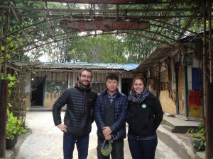 avec Kasa, de retour de la visite aux pandas