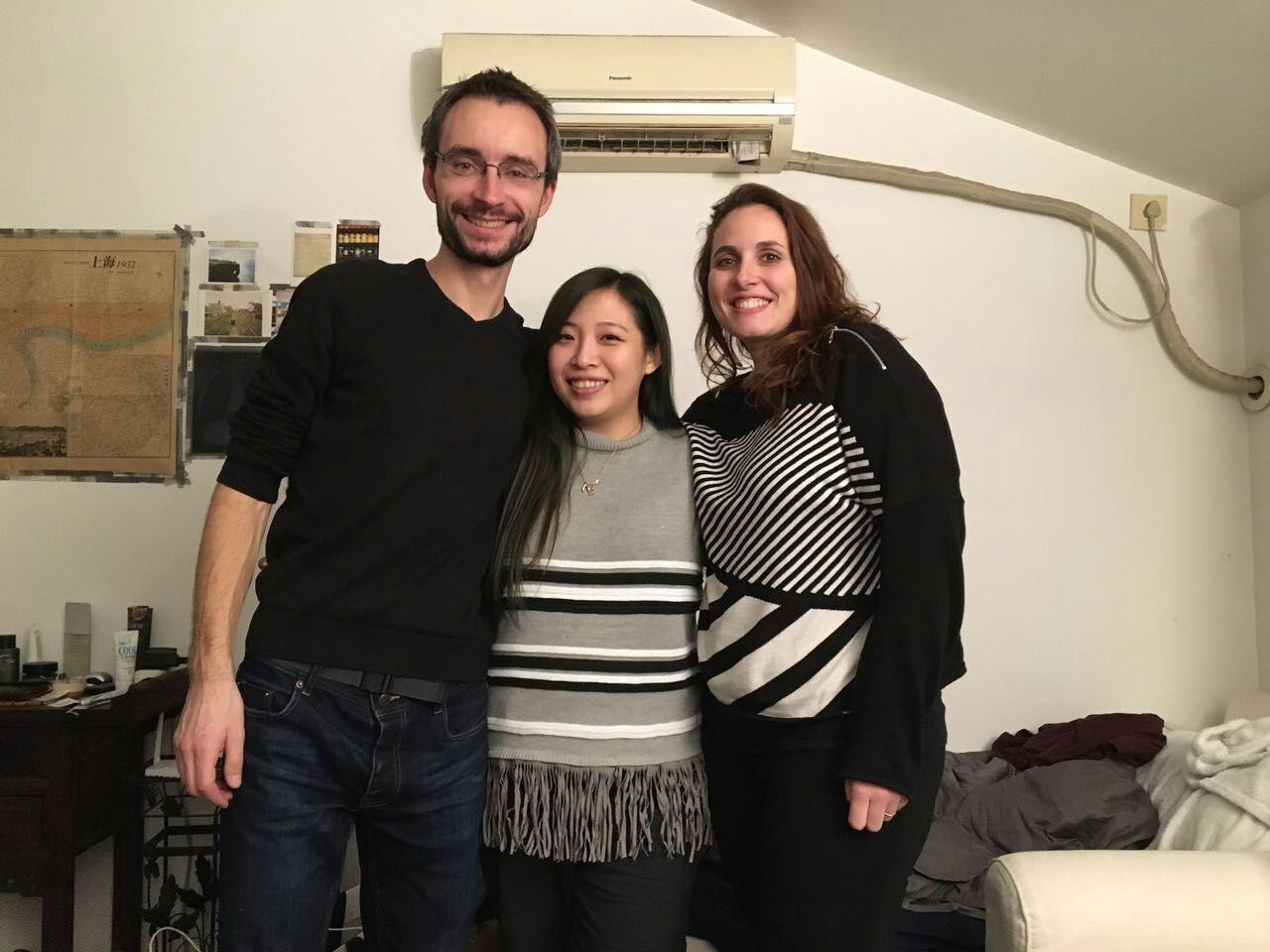 Trois ans après, les retrouvailles avec Romanda à Shanghaï
