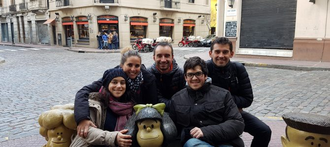 Buenos Aires en Couchsurfing chez Rodrigo et Laura !