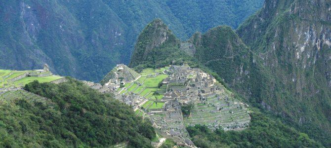 Le Machu Picchu en vidéo !