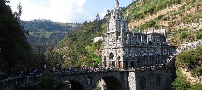 Le sanctuaire de Las Lajas en images