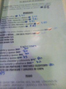 L'inflation va trop vite pour réimprimer les menus !